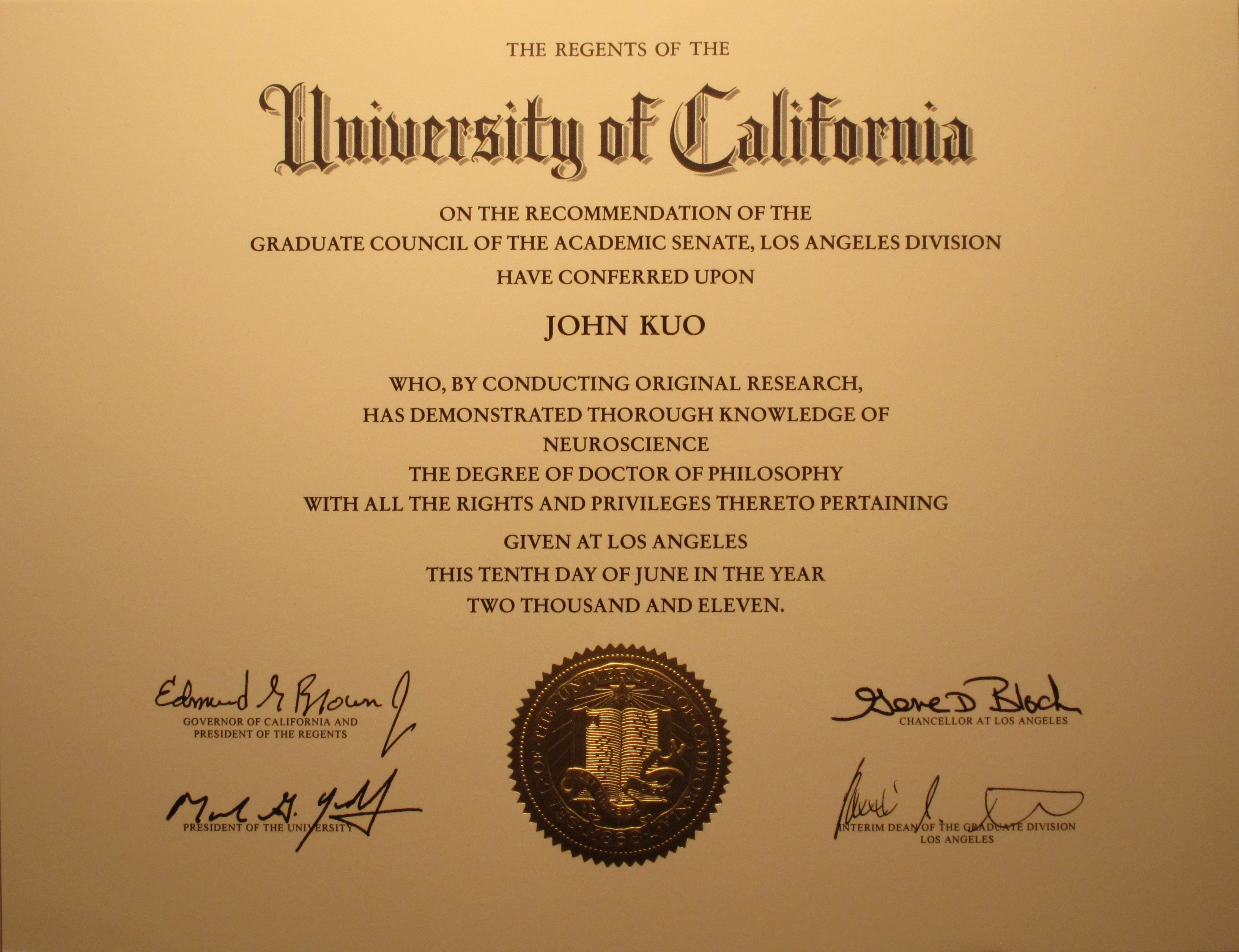 4 year doctor degree